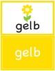 Colors in German ~ die Farben ~ Flash Cards
