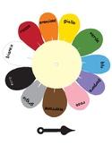 Colors in Italian ~ i colori ~ Color Spinner