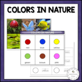 Colors in Nature | Nature Curriculum in Cards | Montessori