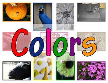 Colors in Nature - Photographs of Colors