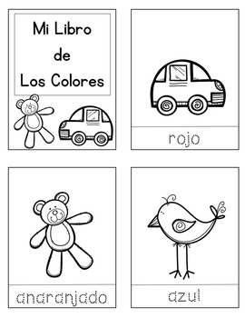Colors in Photos / Interactive Spanish Vocabulary Lessons / Color Words