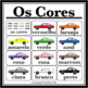 Portuguese Colors Car Printables (PDF and PNG)