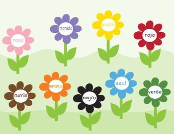 Colors in Spanish ~ Los Colores ~ Bingo Game