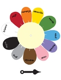 Colors in Spanish ~ Los Colores ~ Color Spinner