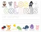 Colors in Spanish ~ Los Colores ~ Worksheets