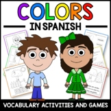 Spanish Colors Activities and Games - Los Colores