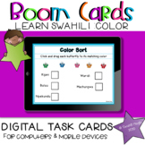 Learn Swahili | Colors BOOM Cards Learning