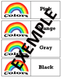 Colors memory game