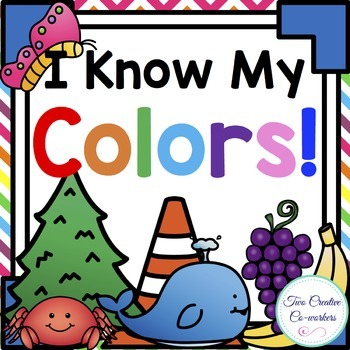 Colors & Color Words { mini-books, worksheets, posters, & picture sorts }