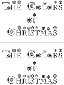 Colors of Christmas