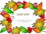 Colors of Fall Leaf Unit