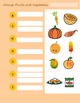 Colors of Fruits and Vegetables - Food Sorting, Alphabet, and Vocabulary
