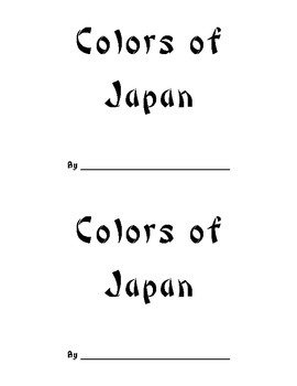 Colors of Japan