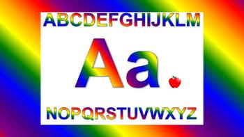 Colors of the Rainbow Alphabet