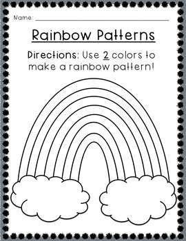 Colors of the Rainbow! Colors unit for Pre-K, Kindergarten, & 1st Grade
