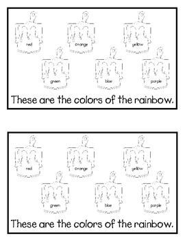 Colors of the Rainbow Emergent Reader