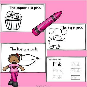 Colors of the Week: Pink Mini Book for Early Readers