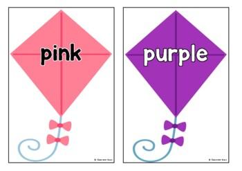 Colors on Kites