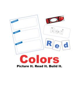 Colors: picture it. read it. build it.