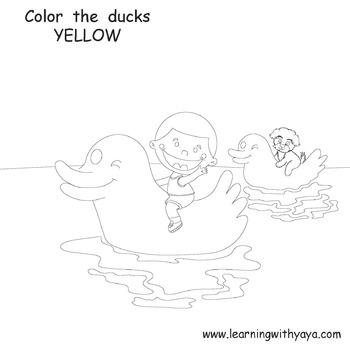 Colors song and coloring book!