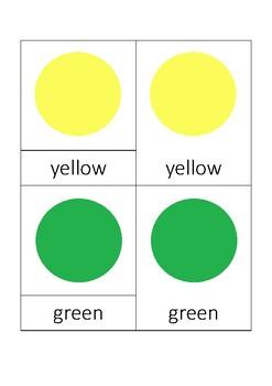 Colors - threepart cards