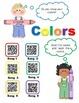 Colors using QR Codes