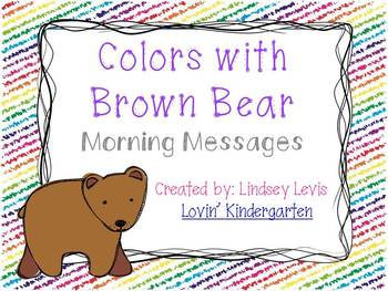 Colors with Brown Bear - Morning Messages