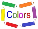 Colors with names