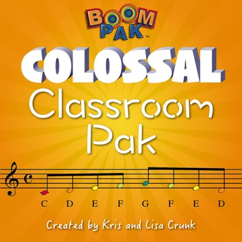 Colossal Classroom Pak - Music Education Bundle