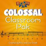 Colossal Classroom Pak - Music Education Bundle