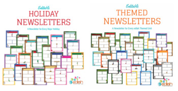 Colossal Newsletter Template Pack for WORD