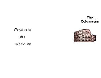 Colosseum Brochure - Roman Empire