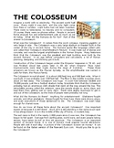 Colosseum Reading Comprehension