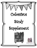 Colossians Study Supplement