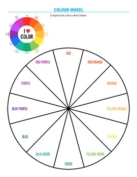 Colour Basics: Tertiary colours lesson