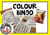 Colour Bingo Game - Australian Spelling