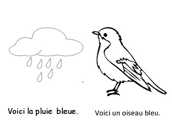 Colour Book - Blue (in French)