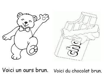 Colour Book - Brown (in French)