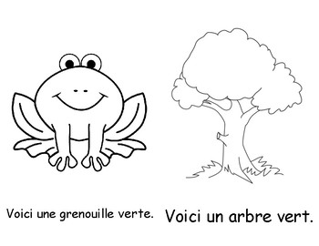 Colour Book - Green (in French)