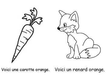 Colour Book - Orange (in French)