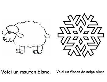 Colour Book - White (in French)