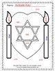 Colour By Code Hanukkah Celebration Know Your Colours UK Version