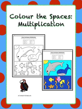 Colour By Number: Multiplication