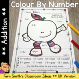 Colour By Number Apples Addition UK Version