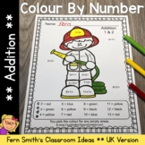 Colour By Numbers Careers: Addition UK Version