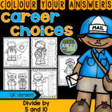 Colour By Numbers Careers: MORE 3 Digit Dividend Division