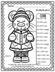 Colour By Numbers Christmas Critters Advance Multiplicatio