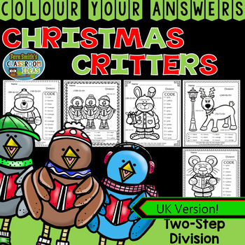 Colour By Numbers Christmas Two-Step Division UK Version
