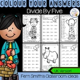 Colour By Numbers Divide By Five Colour By Code UK Version