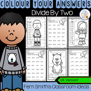 Colour By Numbers Divide By Two Colour By Code UK Version